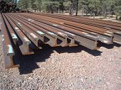 Used railroad rails