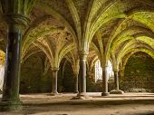 Arches At Battle Abbey At Hastings