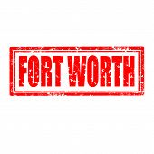 Fort Worth-stamp