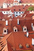 Red clay roofs