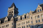 stock photo of old post office  - Old post office building in Washington DC - JPG