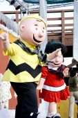Charlie Brown no Knott Berry Farm