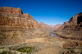 Grand Canyon Rocks Landscape View