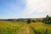 Landscape Dordogne in France