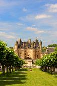 Castle JUMILHAC LE GRAND in the French Dordogne