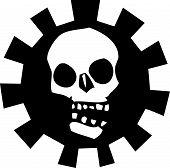 Постер, плакат: Gear черепа 3