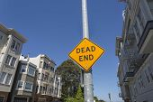 Dead End street sign in San Francisco