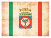 Grunge Flag Of Apulia (italy)