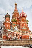 Saint Basil's Cathedral. Hdr