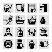 Vector Cleaning Icons