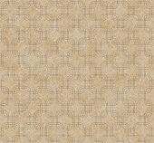 Ecru Interlaced Squares Textured Fabric Background