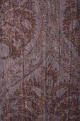 Brown Floral Vintage Texture