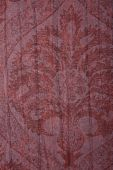 Red Vintage Floral Texture