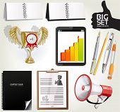 Big set design elements for your advertising 2