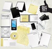 Big set design elements for your advertising 3