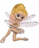 Toon Dragonfly Ballerina Fairy - Pink