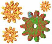 Color Cogwheels.