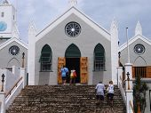 St. Peter's Church in St. George's, Bermuda