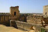 Interior Of The Castle Of Alcala