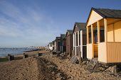 Beach Huts, Thorpe Bay, Essex, England