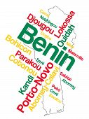 Benin Map And Cities