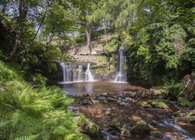 stock photo of hughes  - much visited yorkshire beauty spot and setting for a ted hughes poem - JPG