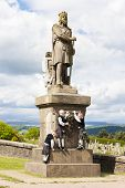 Statue of Robert the Bruce, Stirling, Scotland