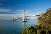 San Francisco City Panorama And Bay Bridge
