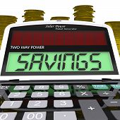 Savings Calculator Shows Setting Aside Financial Reserves