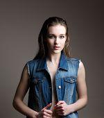 Elegant Young Female Fashion