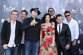 LAS VEGAS - APR 6:  Blues Traveler, John Popper, Shawna Thompson, Kiefer Thompson at the 2014 Academ
