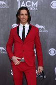 LAS VEGAS - APR 6:  Jake Owen at the 2014 Academy of Country Music Awards - Arrivals at MGM Grand Ga