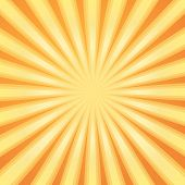 Sunburst Pattern. Radial background