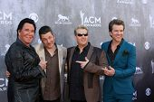 LAS VEGAS - APR 6:  Wayne Newton, Rascal Flatts at the 2014 Academy of Country Music Awards - Arriva