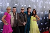 LAS VEGAS - APR 6:  Rascal Flatts, Wives at the 2014 Academy of Country Music Awards - Arrivals at M