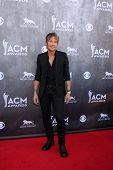 LAS VEGAS - APR 6:  Keith Urban at the 2014 Academy of Country Music Awards - Arrivals at MGM Grand