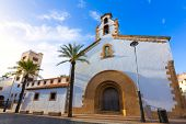 Javea Xabia city Placeta del Convent church Alicante Spain