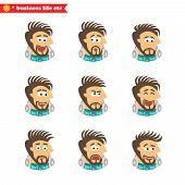 Software engineer facial emotions