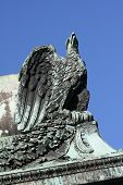 stock photo of bonaparte  - Imperial eagle symbolizing France in the era of Napoleon Bonaparte 