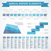Presentation infographics charts for finance
