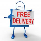 Free Delivery On Bag Shows No Charge  To Deliver