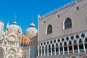 Ducal Palace And San Marco Cathedral