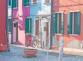 Glimpse Of Burano