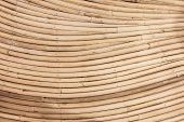 Curve Rattan (wood) Abstract, Texture, Background.