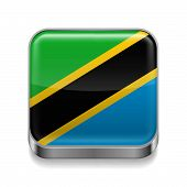 Metal  icon of Tanzania