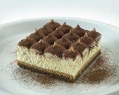 tiramisu, one othe most famous italian sweet food