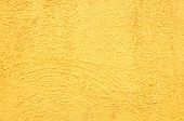 Retro Yellow Concrete Wall Background