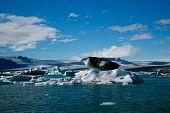 Jokulsarlon Glacial Lagoon near Vatnajokull