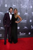 LAS VEGAS - APR 6:  Thomas Rhett, Lauren Gregory Akins at the 2014 Academy of Country Music Awards - Arrivals at MGM Grand Garden Arena on April 6, 2014 in Las Vegas, NV