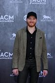 LAS VEGAS - APR 6:  Eric Paslay at the 2014 Academy of Country Music Awards - Arrivals at MGM Grand